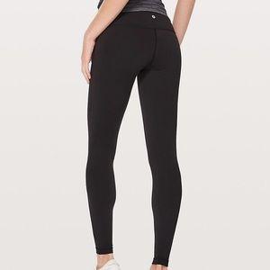 NWT Lulu lemon wunder under black leggings